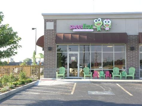 lowes south bend ireland rd sweet frog store front of south bend location picture of