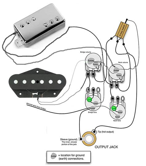 wiring for tele custom