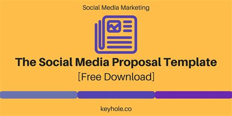 social media proposal template download keyhole blog