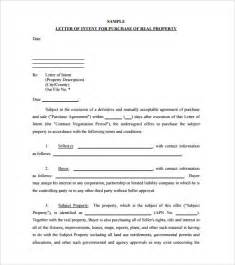 Letter Of Intent To Purchase Item Simple Letter Of Intent To Purchase Property Sle Free