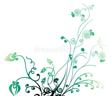 drawing vines pattern leaves and vines pattern stock illustration image of