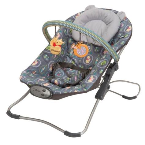winnie the pooh swing kmart winnie the pooh woodland whimsy snug fit folding bouncer
