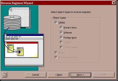 Software Membuat Erd Otomatis | quick step membuat erd otomatis dari database mysql ke