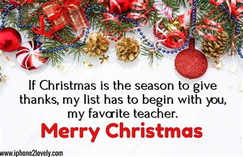 christmas greeting wishes  teachers   iphonelovely