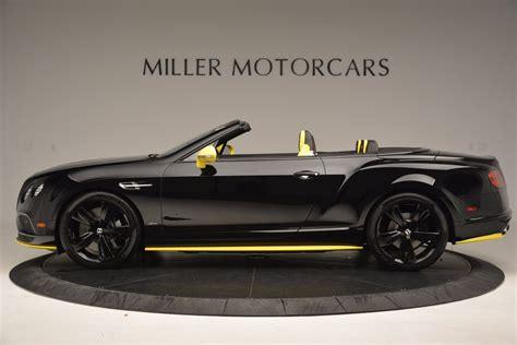bentley black convertible new 2017 bentley continental gt speed black edition
