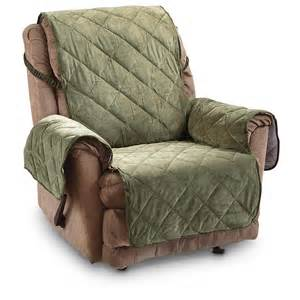 Covers For Recliners Velvet Furniture Cover 614570 Furniture Covers At Sportsman S Guide
