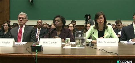 cspan house house oversight committee grills fcc commissioners regarding internet rule change fsrn