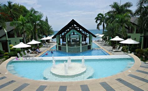 resort in laiya batangas with infinity pool michi photostory soak up the sun at batangas resort