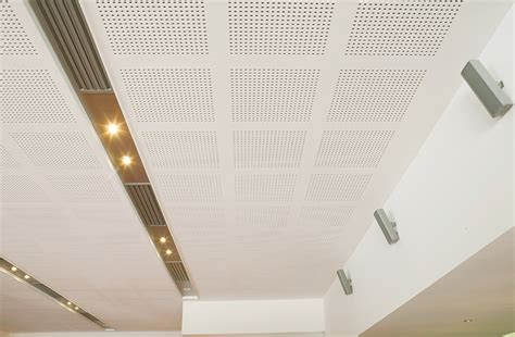Perforated Plasterboard Ceiling by 13mm Perforated Plasterboard Hume Building Products