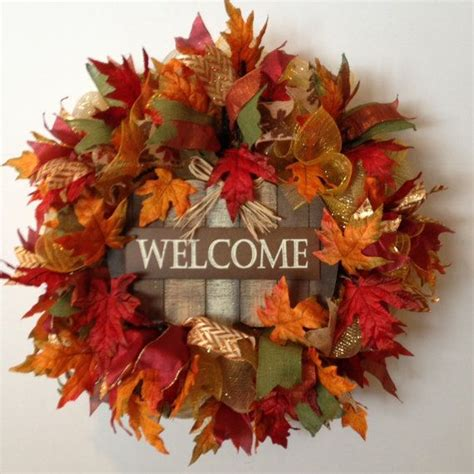 fall front door wreaths 25 best ideas about fall door decorations on