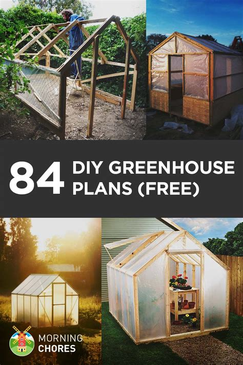 Free Log Cabin Floor Plans 84 diy greenhouse plans you can build this weekend free