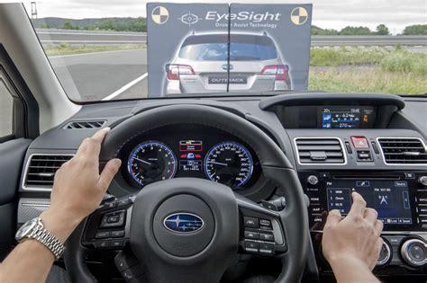 subaru eyesight test vireo auto subaru s eyesight als beste getest