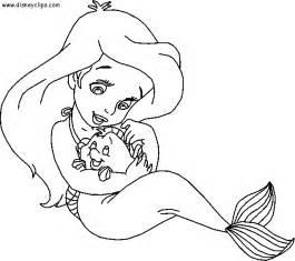 Disney princess mermaid coloring pages lzk gallery