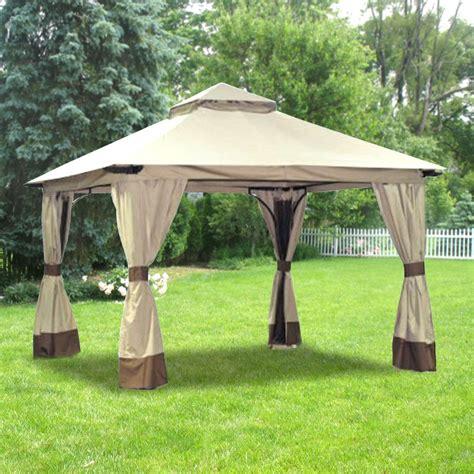 replacement awnings for gazebos walmart gazebo replacement gazebo canopy garden winds canada
