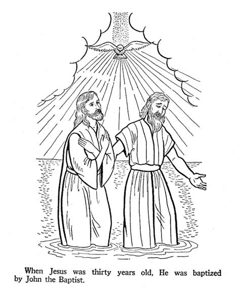 john the baptist baptism jesus coloring pages john the baptist coloring pages for kids coloring home