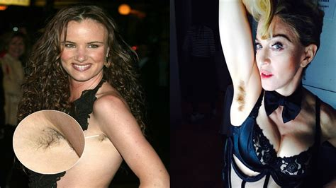 celeberity pubic hair celebs who refuse to shave armpit youtube