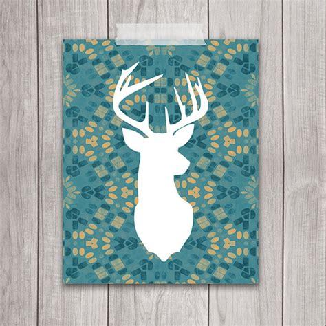 free printable wall art deer 6 best images of free printable deer silhouette 8x10