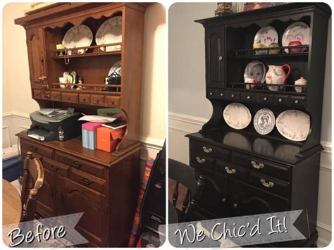 Refinishing Dining Room Buffet For K Refinished Dining Room Table Chairs Buffet Hutch