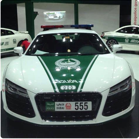 coches policia dubai audi  periodismo del motor