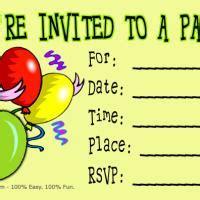 6th birthday card template birthday invitation card birthday ideas