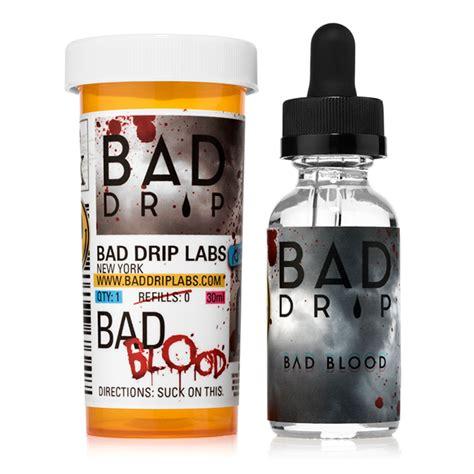 Liquid Juice Bad Blood bad drip bad blood e liquid vaporized