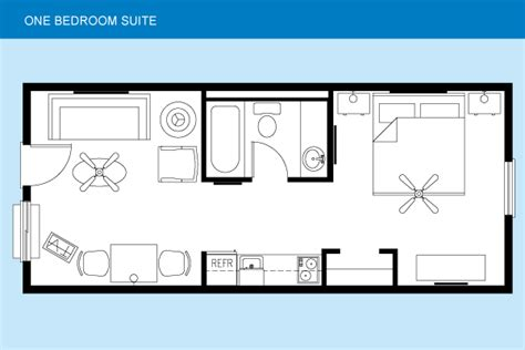 floor plan of the one bedroom suite quinte living centre sunshine grand cayman beach suites accommodations
