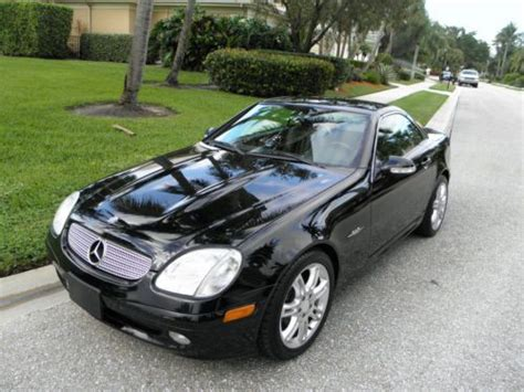 how make cars 2004 mercedes benz slk class on board diagnostic system buy used 2004 mercedes slk se 23k in palm beach gardens florida united states