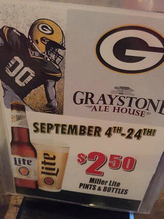 graystone ale house de pere wi graystone ale house american restaurant 3711 monroe rd in de pere wi tips and