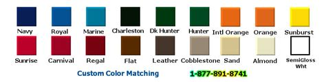 rhino liner color chart rhino liner color chart images