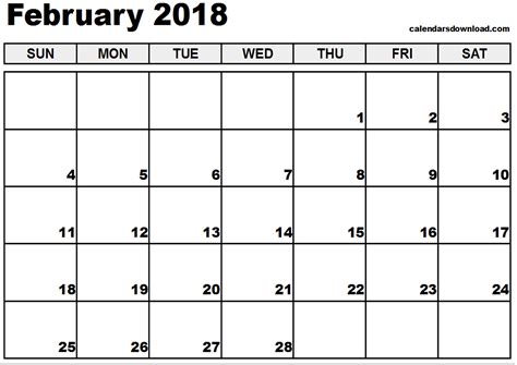 printable calendar google february 2018 printable calendar calendar monthly printable