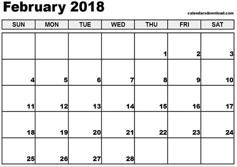 february printable calendar calendar monthly printable