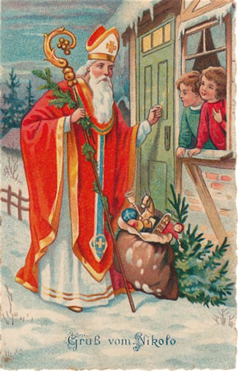 st nicholas center how did santa begin