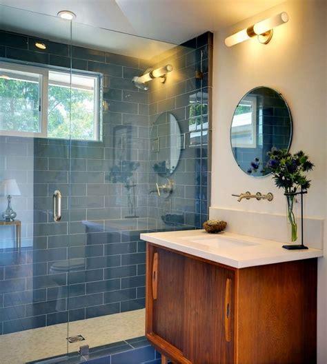 interior   mid century modern bathroom