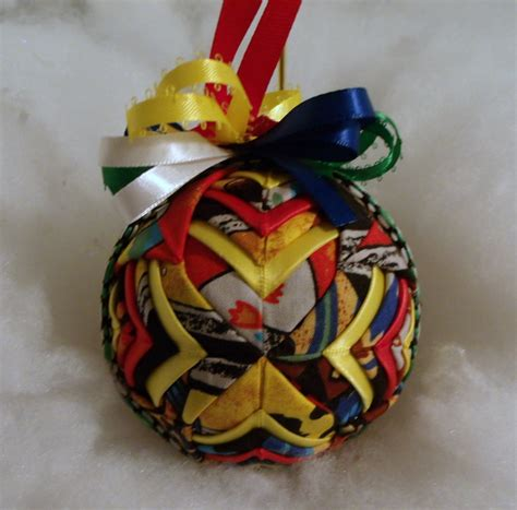 Handmade Fabric Ornaments - indian handmade quilted ornament by chrissie1370 on deviantart