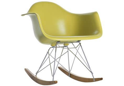 sedie eames vitra eames plastic armchair rar poltroncina a dondolo vitra