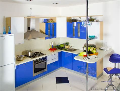blue kitchen design modern blue kitchen cabinets pictures design ideas
