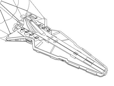star wars coloring pages star destroyer battletech venator by masterofcaps on deviantart
