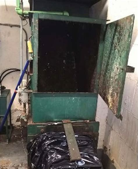 what is a trash compactor police looking for person who left dog in trash compactor