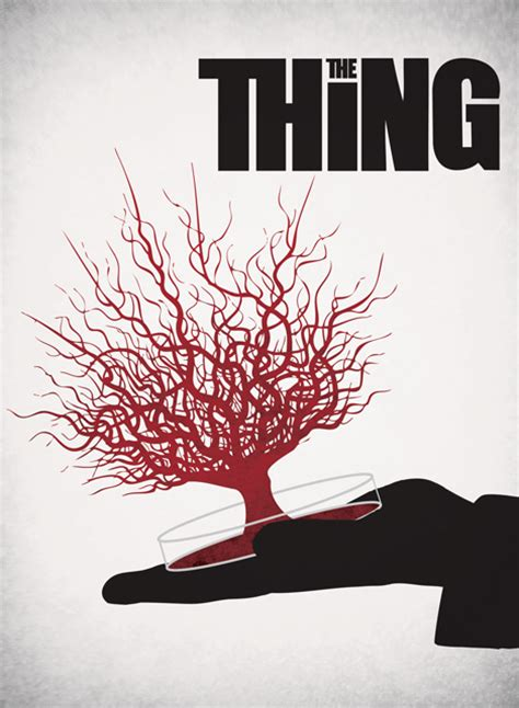 the thing minimalist poster the thing minimalist poster by ashtonperson on deviantart