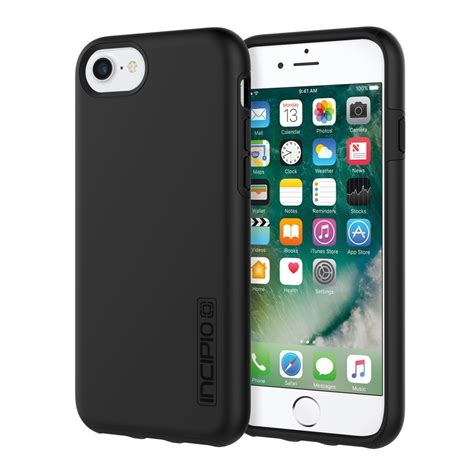 incipio dualpro for iphone 6 6s 7 8 black incipio tessco brands rev wholesale