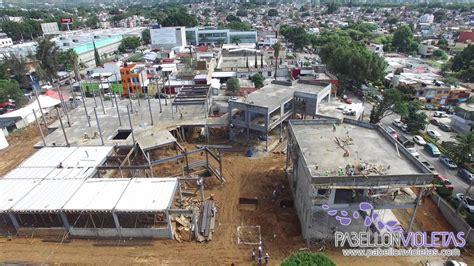 pabellon violetas pabell 243 n violetas agosto 2016 avance de obra drone