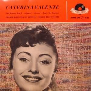 caterina valente sprache regens caterina valente caterina valente records vinyl and cds