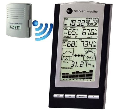 ambient weather ws 1171b wireless advanced weather station