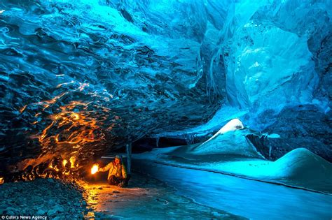 crystal ice cave iceland iceland s blue crystal ice caves where no two days are