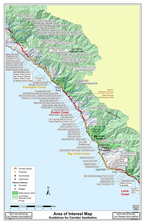big sur map central big sur interactive slide map bigsurkate