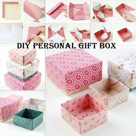 How To Make Handmade Gifts At Home - diy personal gift box diy comfy home
