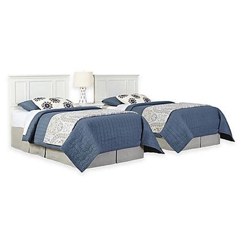 bed bath and beyond naples home styles naples 3 piece twin headboards and nightstand