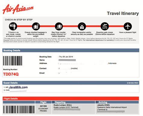 airasia refund tiket seputar perubahan detil tiket airasia