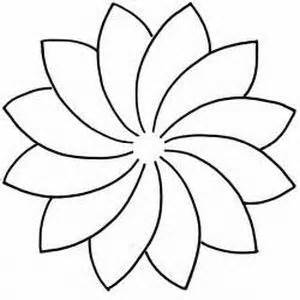 flower drawing templates 17 best ideas about flower outline on flower