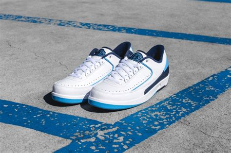 Air 2 Retro Low 832819107 Blue Jumpman Ii Basketball Shoes Oss air 2 retro low unc air 23 air release dates foosite air max and more